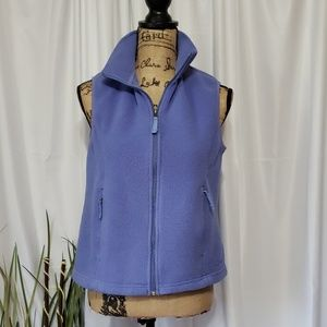L.L. Bean Fleece Full Zip-Up Vest